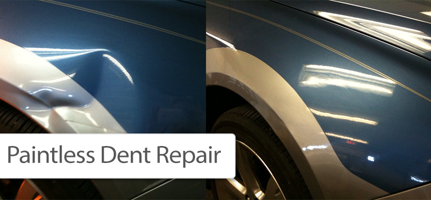Car Dent Paint Repair Cost