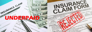 Field Inspection Under-Payed Insurance Hail Claim